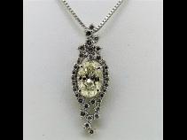 Pt950ダイヤモンド(1.003ct L SI2 0.30ct)ペンダントPt850ネックレス