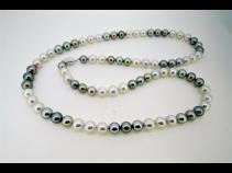 真珠80cmロングネックレス(10.0-8.5mm)