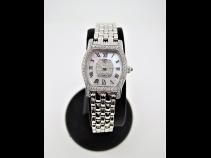 CARATI (イタリア製) K18WGダイヤモンド・ルビ-時計 (USED)