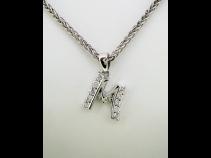 K18WGダイヤモンド(030ct)ネックレス