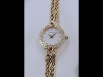 ウォルサム K18ルビー・ダイヤモンド時計 (USED)