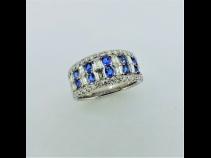 PTアウイナイト(0.29ct)ダイヤモンド(0.86ct)リング
