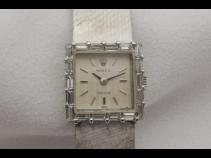 ROLEX K18WGダイヤモンド時計 (USED)
