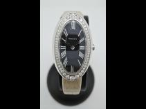 ティファニ-K18WGダイヤモンドウオッチ
