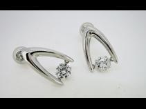 PTダイヤモンド(0.741ct)ピアス