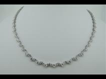PT850ダイヤモンド(D10.00ct、42cm)ネックレス