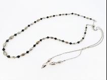 K18WGダイヤモンド(10.1ct)ネックレス