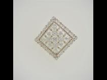 PtK18ダイヤモンド(0.98ct)ペンダントブロ-チ