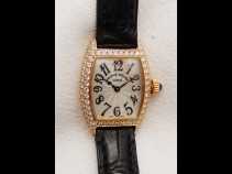 FRANCK MULLER K18ピンクゴールドダイヤモンド時計 (USED)
