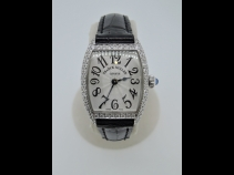 フランクミュ-ラ-K18WGダイヤモンドウオッチ(USED)