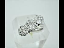 K18WGダイヤモンド(1.37ct)リング