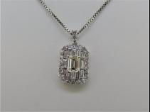 PTダイヤモンド(D1.006ct・1.48ct)ペンダントネックレス