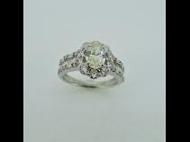 PTダイヤモンド(1.011ct)( VLY VVS-2中石.脇石1.17ct)リング