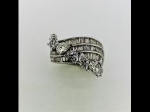 K18WGダイヤモンド(2.44ct)リング