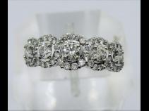 K18WGダイヤモンド(1.00ct)リング