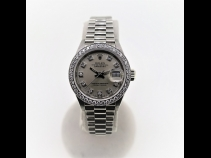 ROLEX K18WGダイヤモンド デイトジャストウオッチ(USED)