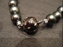 真珠ネックレス用ドイツ製磁石クラスプ