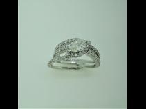 PTダイヤモンド(中石0.458ct、脇石0.82ct)リング