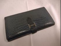 エルメス ベアンクラシック財布 (USED)