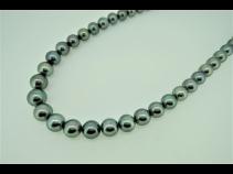 南洋タヒチピ-コック真珠ネックレス