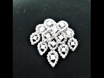 K18ダイヤモンド(1.31ct)ペンダントブロ-チ