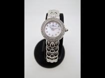 ボ-ム&メルシェ K18WGシェルダイヤベゼル時計(USED)