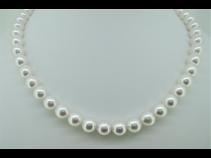 和珠真珠ネックレス(8.0~8.5mm)