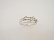 PT900 ダイヤモンド0.18ct ネックレス
