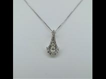 PTダイヤモンド(0.605ct)ペンダントネックレス