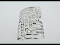 K18WG ダイヤモンド1.17ct リング