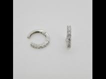 K18WGダイヤモンド(0.46ct)ピアリング