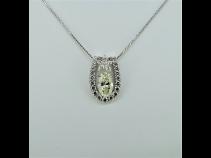 PTダイヤモンド(中石1.398ct VLY VVSI 脇石0.92ct)ペンダントネックレス