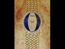 PIAGE K18ダイヤモンド・ラピス時計 (USED)
