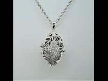 K18ダイヤモンド(03ct)ペンダントネックレス