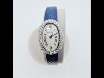 カルティエ K18WGベニュワールダイヤ時計 (USED)