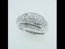 PT900バヴエダイヤモンド(1.56ct)リング