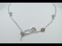 K18WGダイヤモンド(4.00ct)ネックレス