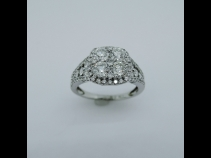 K18 ダイヤモンド1.55ct リング