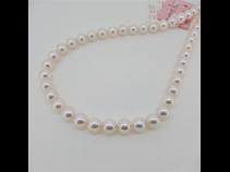 アコヤ花珠真珠ネックレス(9.5-9.0mm)
