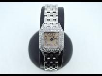 カルティエ K18WGミニパンテールダイヤ時計 (USED)