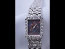 PIAGET K18WGオパール・ダイヤモンド時計 (USED)