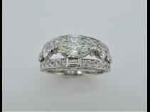 PT900ダイヤモンド(0.707ct KSI-1 0.84ct)リング