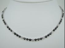 K18WG ダイヤモンド(BD8.07ct WD2.43ct) ネックレス