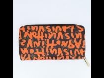 ルイヴィトン モノグラム・グラフィティキャンバス長財布 (USED)
