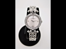 ボ-ム&メルシェ K18WGシェルダイヤベゼル・サファイア時計(USED)