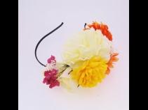 お花いっぱいカチュ-シャ