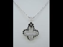 K18WGダイヤモンドペンダントネックレス (1.53ct)