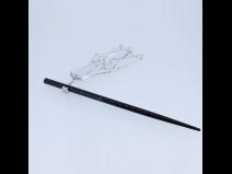 ビラさがり付 黒箸