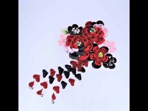 ふじさがりフラワ-コ-ム 赤/黒