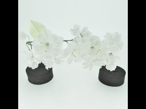 ミニフラワー桜(白)